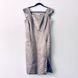NWT Silk Culture Silk Cotton Fitted Dress M